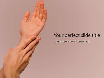 Hand Skin Care Presentation Presentation Template, Master Slide