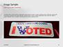 I Voted Sticker on a Man's Finger Presentation slide 10