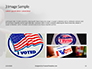 I Voted Sticker on a Man's Finger Presentation slide 12