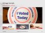 I Voted Sticker on a Man's Finger Presentation slide 13