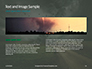 Large Tornado Over the Meadow Presentation slide 14