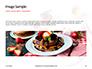 Belgium Waffles with Chocolate Sauce and Strawberries Presentation slide 10