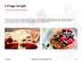 Belgium Waffles with Chocolate Sauce and Strawberries Presentation slide 11