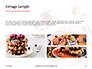 Belgium Waffles with Chocolate Sauce and Strawberries Presentation slide 12