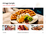 Belgium Waffles with Chocolate Sauce and Strawberries Presentation slide 13
