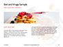Belgium Waffles with Chocolate Sauce and Strawberries Presentation slide 14