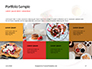 Belgium Waffles with Chocolate Sauce and Strawberries Presentation slide 17