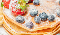 Homemade Pancakes with Berries Presentation Presentation Template
