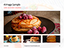 Homemade Pancakes with Berries Presentation slide 13