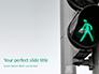 Green Pedestrian Traffic Light Presentation slide 1
