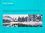 Landscape with Snowy Trees Presentation slide 10