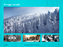 Landscape with Snowy Trees Presentation slide 13