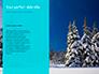 Landscape with Snowy Trees Presentation slide 9
