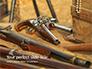 Old Wooden Guns and Pistols Presentation slide 1