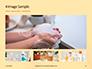 Female Hand Holding Cream Tube Presentation slide 13