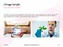 GMO Scientist Injecting Liquid from Syringe into Tomato Presentation slide 11