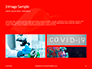 White Mask on Red Background Presentation slide 12