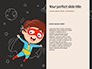 Strong Superhero Boy with Superpowers Presentation slide 9