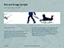 Wooden Sled on Snow Presentation slide 14